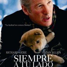 Un poster spagnolo per Hachiko: A Dog's Story