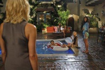 Una scena dell'episodio Vine di Melrose Place