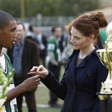 Brandon Smith ed Heather Stephens in una scena dell'episodio Football John di The Forgotten
