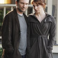 Christian Slater ed Heather Stephens nell'episodio Diamond Jane della serie The Forgotten