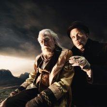 Christopher Plummer e Tom Waits in  Parnassus - L'uomo che voleva ingannare il diavolo