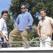 Dan Byrd, Ian Gomez e Brian Van Holt nell'episodio Don't Do Me Like That di Cougar Town