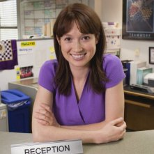Ellie Kemper nell'episodio Gossip della serie The Office