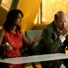 Eva La Rue e Rex Linn nell'episodio Bolt Action di CSI Miami