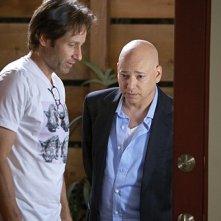 Evan Handler e David Duchovny nell'episodio Wish You Were Here di Californication