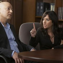 Evan Handler e Pamela Adlon nell'episodio Wish You Were Here di Californication