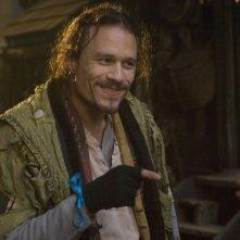 Heath Ledger in una scena del suo ultimo film, Parnassus - L'uomo che voleva ingannare il diavolo