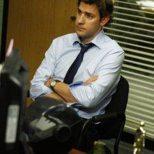 John Krasinski nell'episodio The Meeting della serie The Office