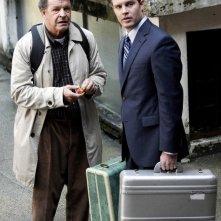John Noble e la guest star Travis Schuldt nell'episodio Dream Logic di Fringe