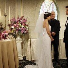 Josh Radnor e Lindsay Sloane nell'episodio Double Date di How I Met Your Mother