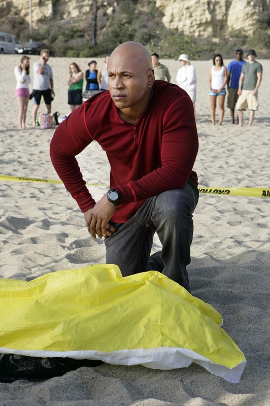L Agente Speciale Sam Hanna Ll Cool J In Un Momento Dell Episodio The Only Easy Day Di Ncis Los Angeles 132489