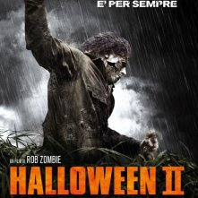 La locandina italiana di Halloween II