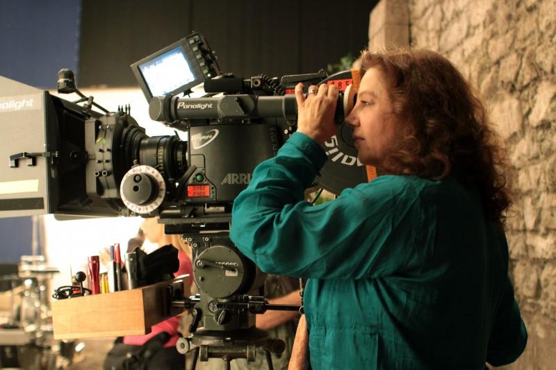 Stefania Sandrelli Sul Set Di Christine Cristina Suo Primo Film Da Regista 132361