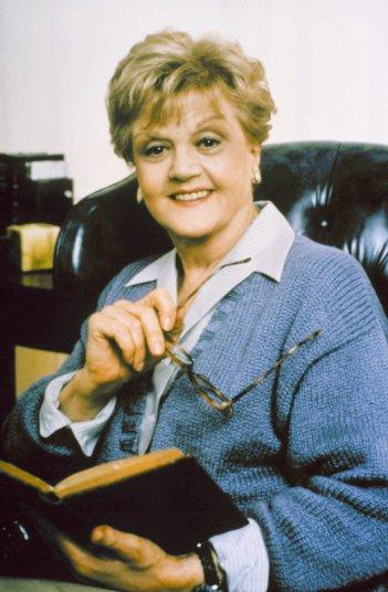 Angela Lansbury è Jessica Fletcher nella serie tv La signora in giallo