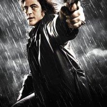 Benicio Del Toro interpreta Jack Rafferty nel film Sin City