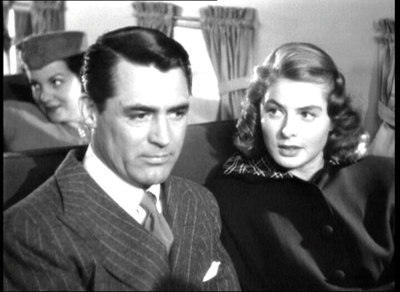 Cary Grant E Ingrid Bergman In Una Scena Del Film Notorious Di Alfred Hitchcock 1946 132907