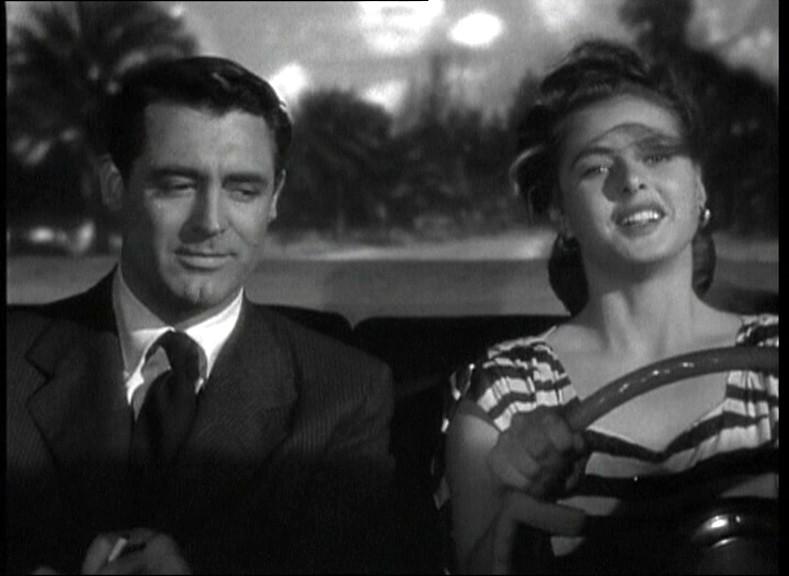 Cary Grant E Ingrid Bergman In Una Scena Del Film Notorious L Amante Perduta 1946 132906