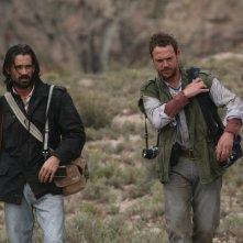 Colin Farrell e Jamie Sives nel film Triage, di Danis Tanovic