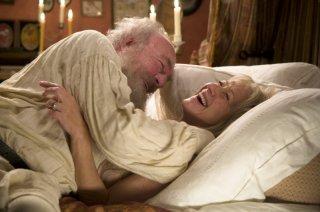 Helen Mirren e Christopher Plummer in una sequenza di The Last Station