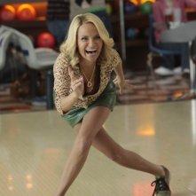 La guest star Kristin Chenoweth nell'episodio The Rhodes Not Taken della serie Glee