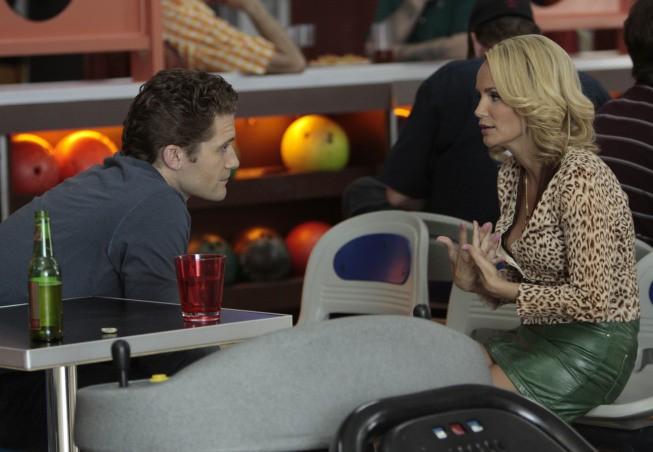 Matthew Morrison Con La Guest Star Kristin Chenoweth Nell Episodio The Rhodes Not Taken Della Serie Glee 132765