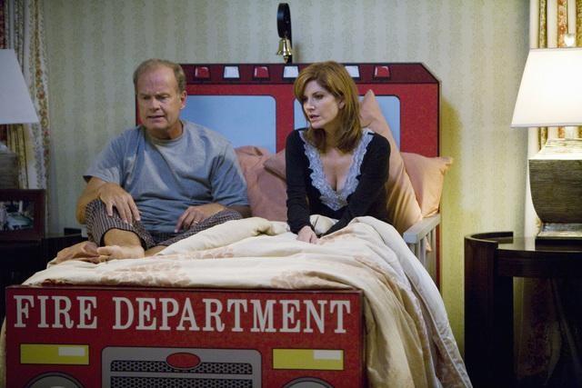 Melinda Mcgraw E Kelsey Grammer In Un Momento Del Pilot Della Serie Hank 132722