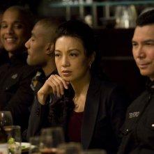 Ming-Na in un momento delle premiere di Stargate Universe