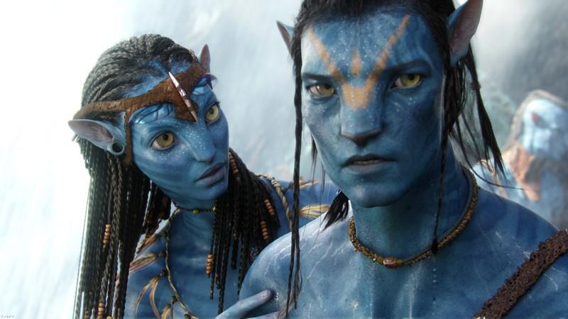 Neytiri E Jake Sully Con I Tratti Di Un Na Vi Chiamato Avatar In Una Scena Del Film Avatar 132873