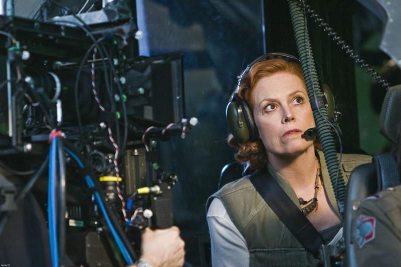 Una Foto Di Sigourney Weaver Durante Le Riprese Del Film Avatar 132867