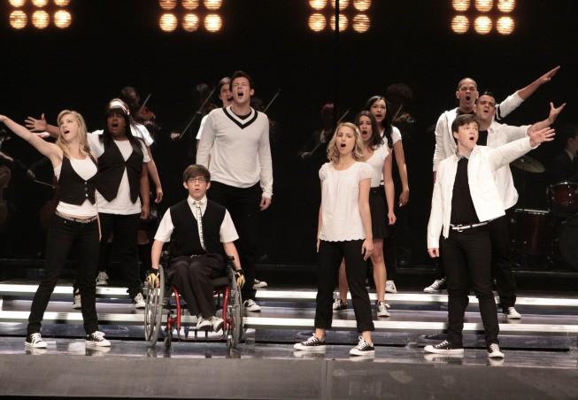 Una Scena Dell Episodio Takedown Della Serie Glee 132734