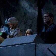 Una scena delle premiere di Stargate Universe