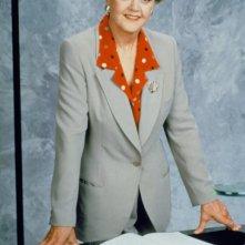 Angela Lansbury in un'immagine promozionale del serial La signora in giallo