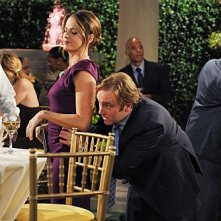 Paula Marshall e Jay Mohr in una scena dell'episodio Gary Promises Too Much della serie Provaci ancora Gary