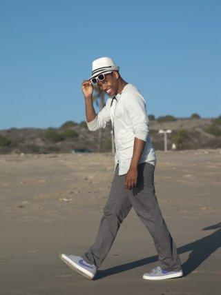 Tristan Wilds in una foto promozionale della stagione 2 di 90210