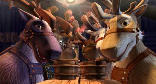 Un fotogramma del film Niko una renna per amico