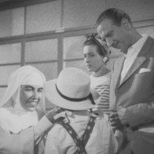 Una scena del film Domenica d'Agosto di L. Emmer