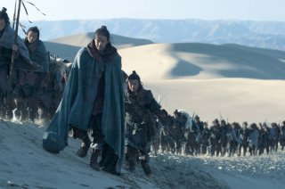 Una sequenza  del film The Warrior and the Wolf di Tian Zhuangzhuang