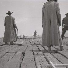 Una sequenza di C'era una volta il West di Sergio Leone ©Angelo Novi /Cineteca di Bologna