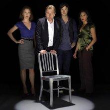 La squadra di Lie to Me per una foto promozionale della serie