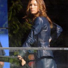 Bella in blu, Jessica Biel in The A-Team