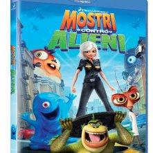 La copertina di Mostri contro alieni (blu-ray)