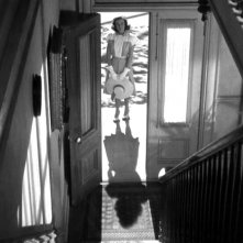 Teresa Wright in una sequenza del film L\'ombra del dubbio ( 1943 )