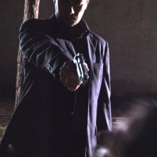 Giuseppe Milazzo Andreani in una foto di scena del film The Fall of Redemption regia di Ruben Maria Soriquez