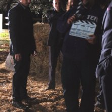 Giuseppe Milazzo Andreani sul set di The Fall of Redemption