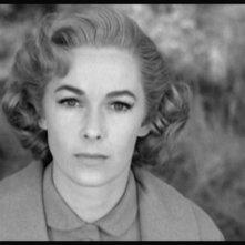 Primo piano di Vera Miles in una scena del film Psycho ( 1960 )