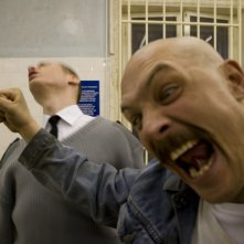 Tom Hardy in un'immagine del film Bronson