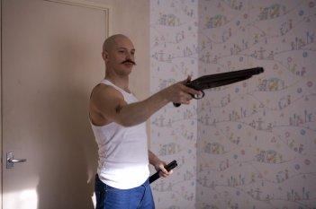 Tom Hardy in un'immagine di Bronson