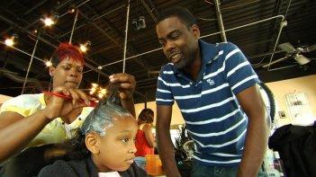 Chris Rock in un'immagine del documentario Good Hair