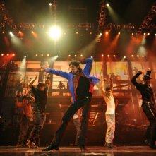 Michael Jackson in un'immagine del film Michael Jackson's This is it