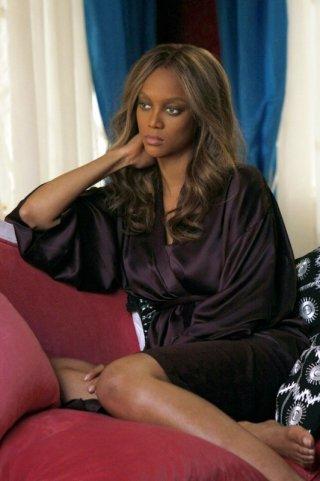 Tyra Banks è Ursula nella puntata Dan de Fleurette della serie Gossip Girl
